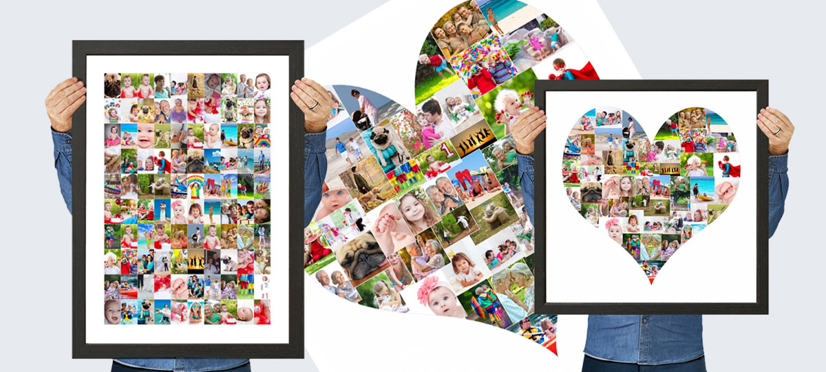 large photo collage maker