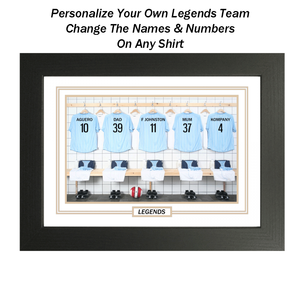 My man city legends for My dream bedroom maker
