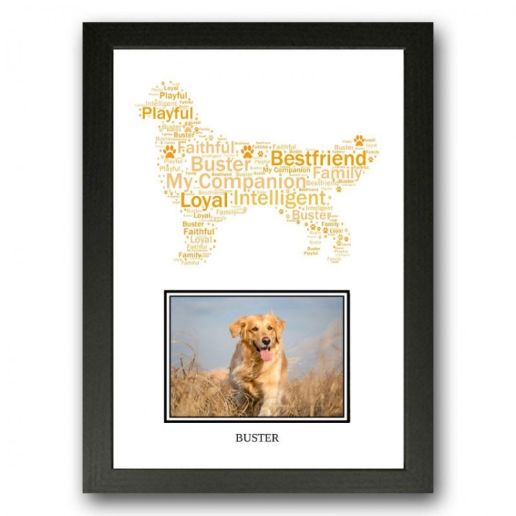 Golden Retriever Photo Print Gift