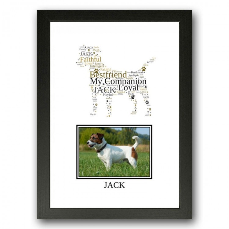 Jack Russell Terrier Photo Print Gift