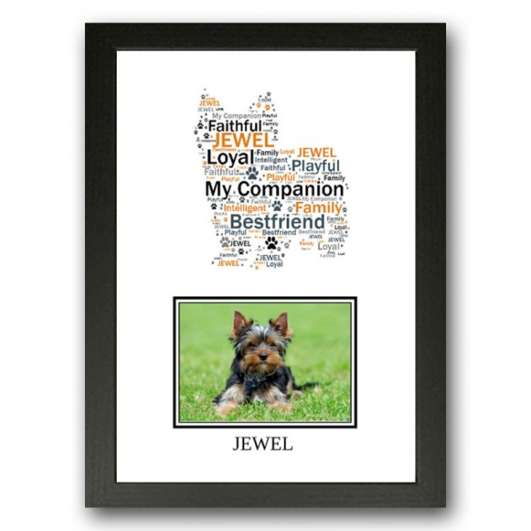 Yorkshire Terrier photo print Gift