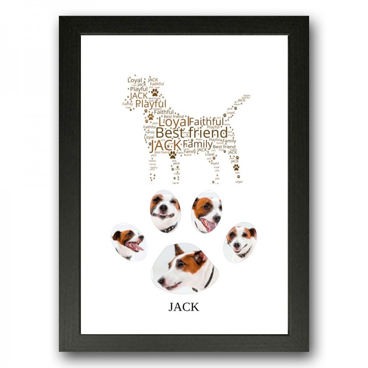 Jack Russell Photo Collage Gift