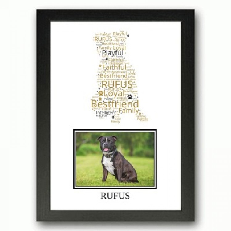 Staffordshire Bulll Terrier Photo Print Gifts