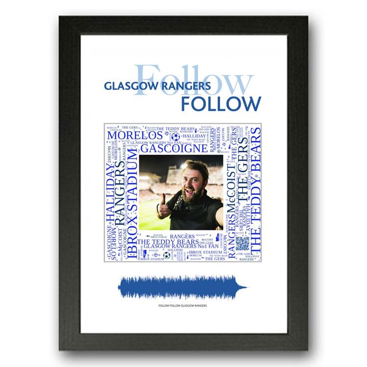 Glasgow Rangers Team Song Gift