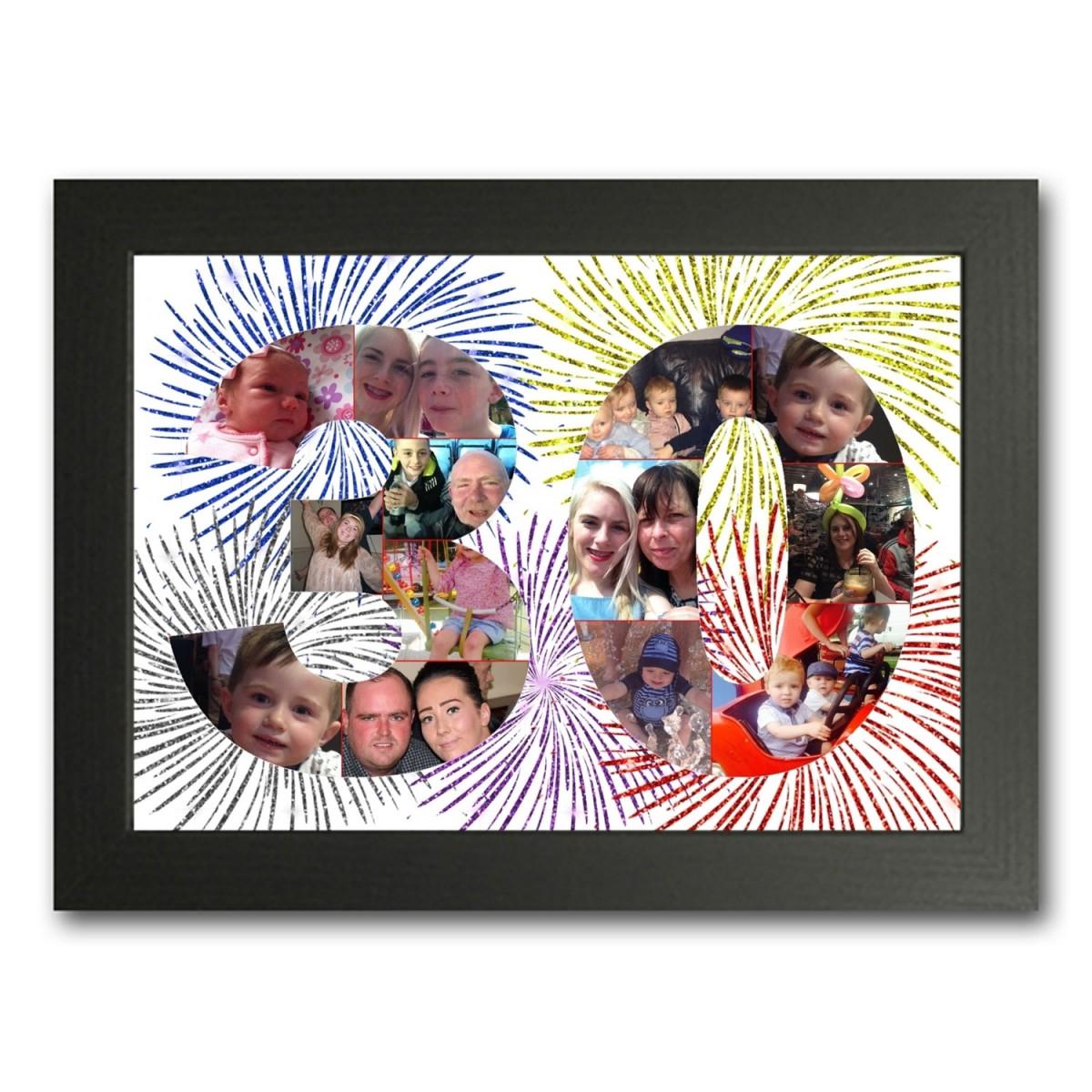30th Birthday Photo Collage Maker