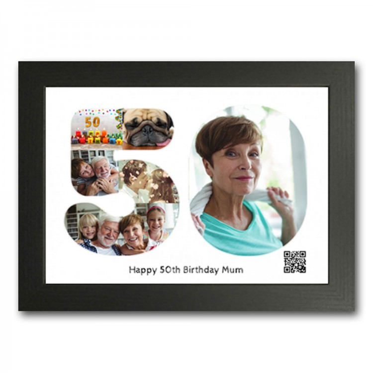 Personalised 50th Gift