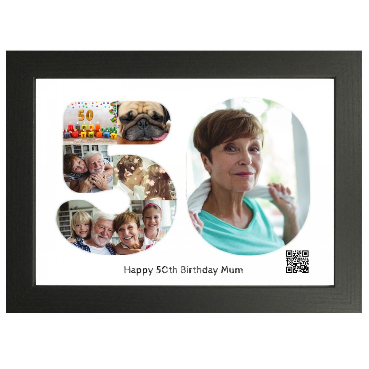 Personalised 50th Happy Birthday