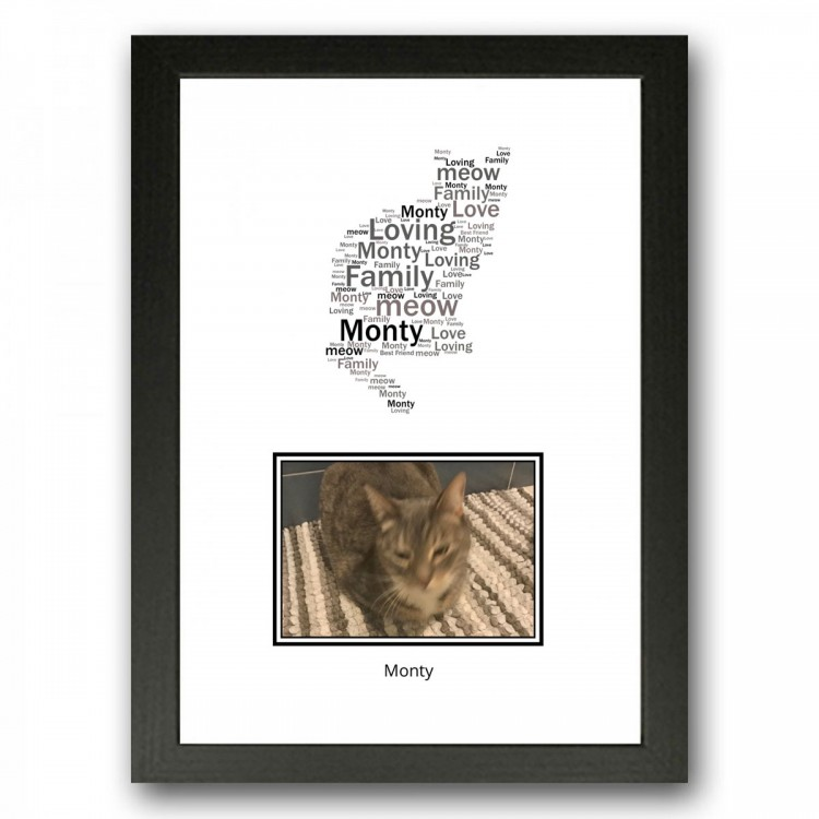 Cat Photo Collage Gift