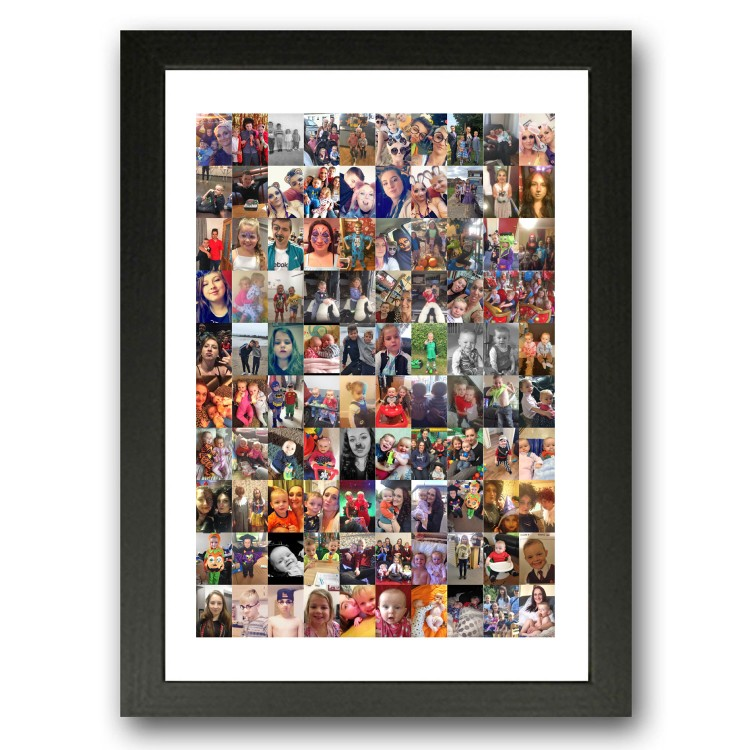 100 Family Photo Collage Maker