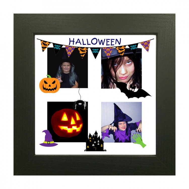 Halloween Square 4 Photo Collage Maker