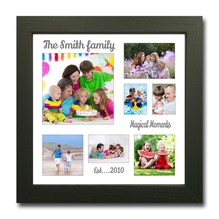 Personalised Family Photo Collage