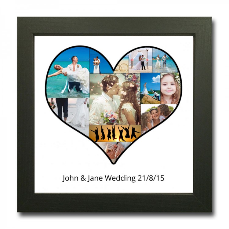 Personalised Heart Photo Collage Maker