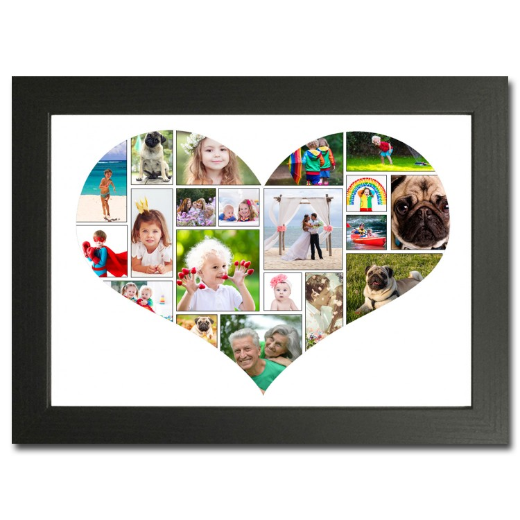 Love Heart Photo Collage Maker