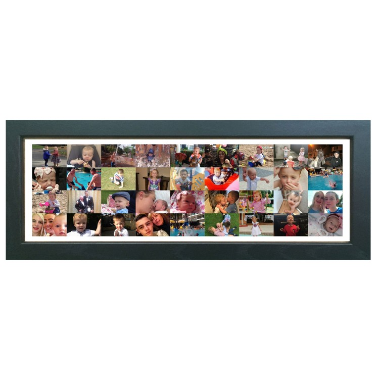 Shape Photo Collage Maker Long Panoramic