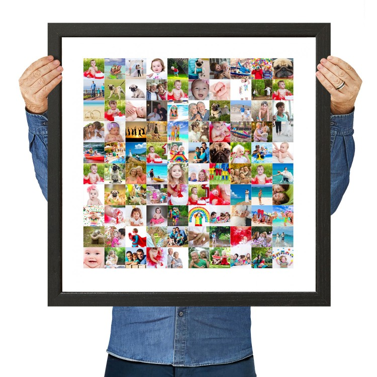 100 Photo Collage Square