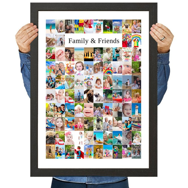 Family and Friends Photo Collage