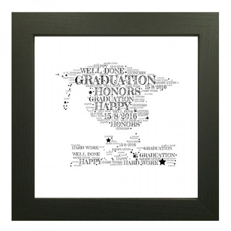 Word Art Graduation