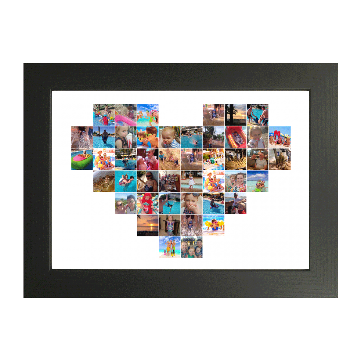 Heart 46 photo collage maker